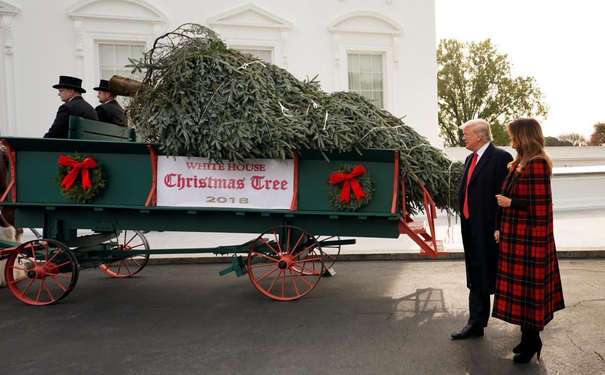 Дональд и Мелания Трамп / REUTERS