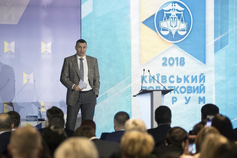 Кличко навів кілька прикладів збільшення надходжень від податків завдяки прозорості роботи / фото kiev.klichko.org
