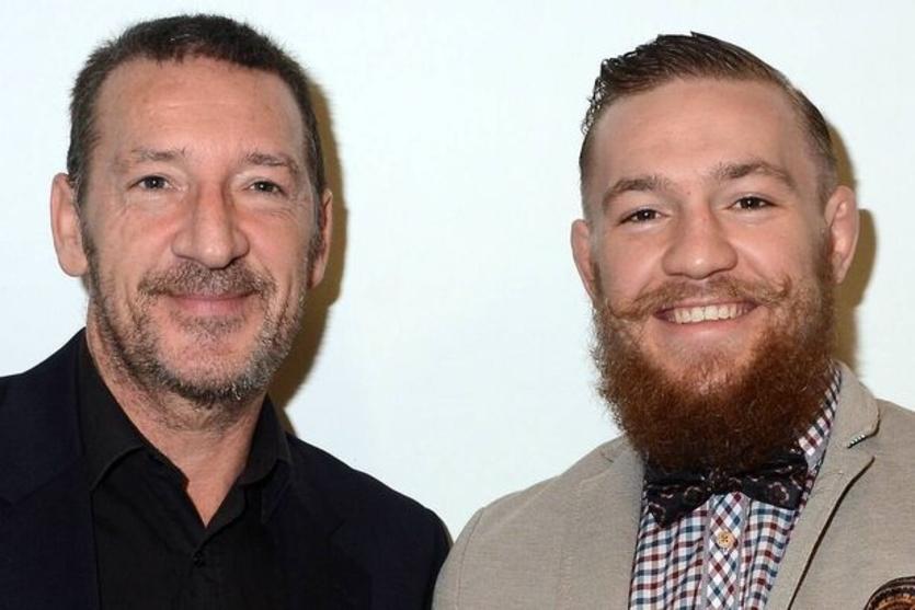 Отец Макгрегора (слева) проведет боксерский поединок в предверии 60-летия / irishmirror.ie