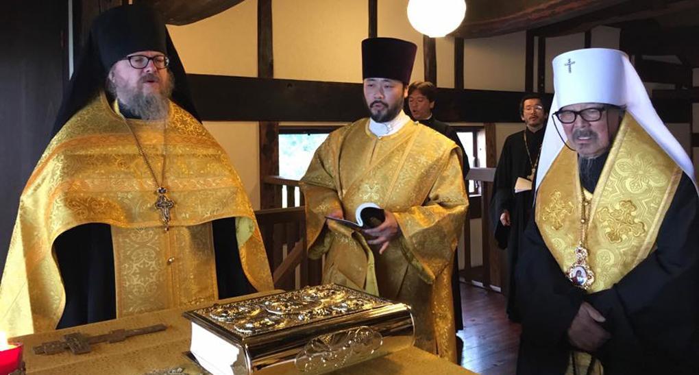 В Японии прошел молебен в первом православном монастыре / stsl.ru