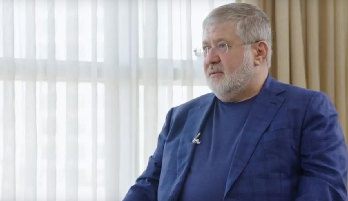 Ihor Kolomoisky / snap from video