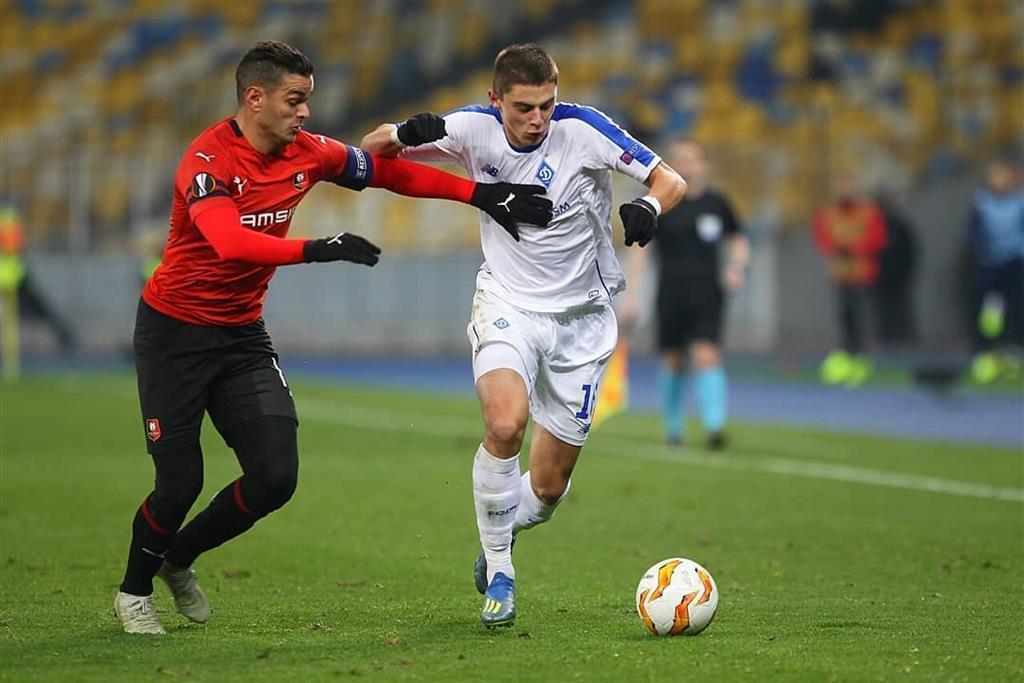 У матчі з Ренном Миколенко був хороший / Football.ua