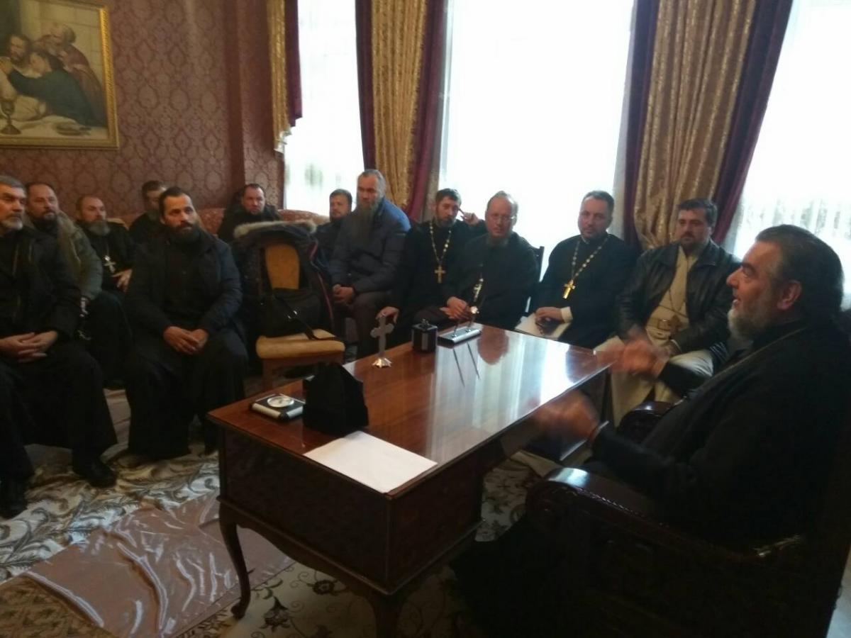 Митрополит Винницкий Симеон заявил, что будет выполнять РешениеСобора епископов УПЦ / news.church.ua