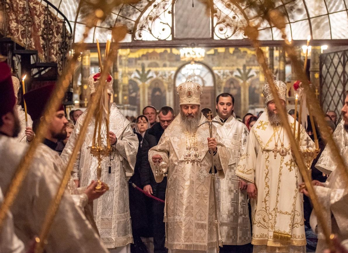 Митрополит Онуфрій очолив всенічне бдіння у Лаврі / news.church.ua
