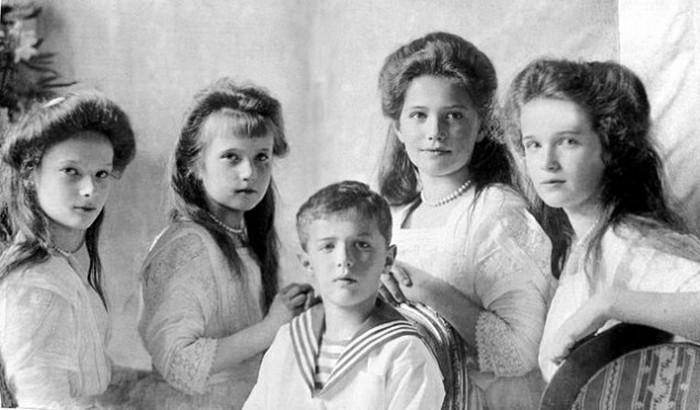 Документальный фильм о детях Николая II снимут в Петербурге / фото из открытых источников