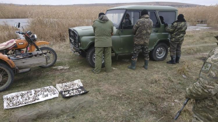На Донбасі затримали браконьєрів / фото facebook.com/skhidneregionalneypravlinnya