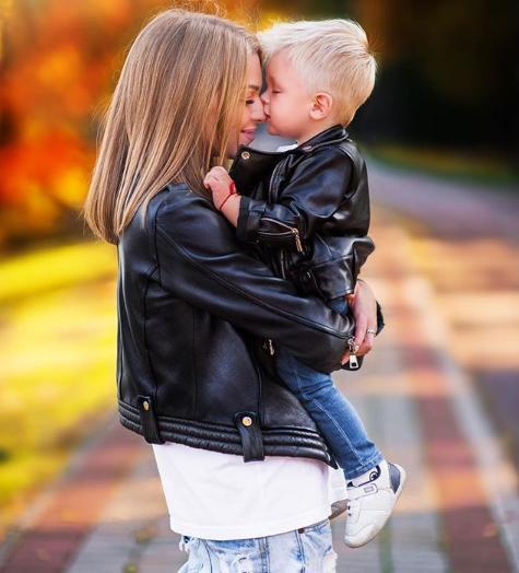 Глущенко назвала фотографию с сыном самой любимой / фото instagram.com/yamo4ka