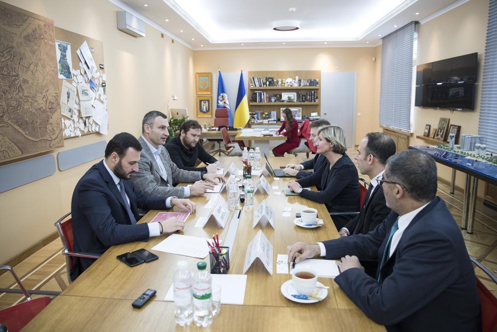 Кличко встретился с представителями Всемирного банка и Международной финансовой корпорации / пресс-служба Кличко