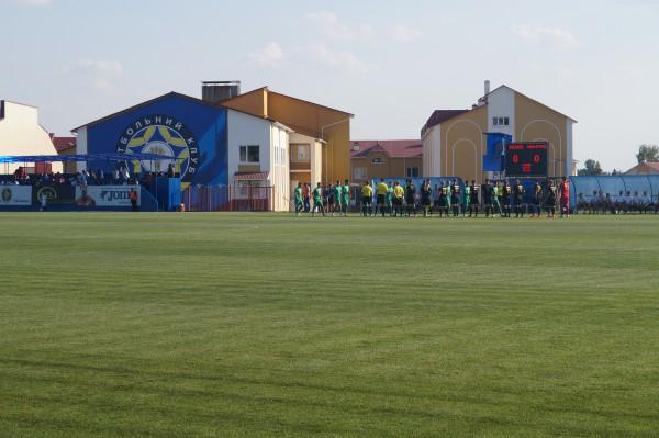 """Стадіон """"Колос"""" у Ковалівці збираються підтягнути до стандартів УЄФА / fc-avangard.com.ua"""