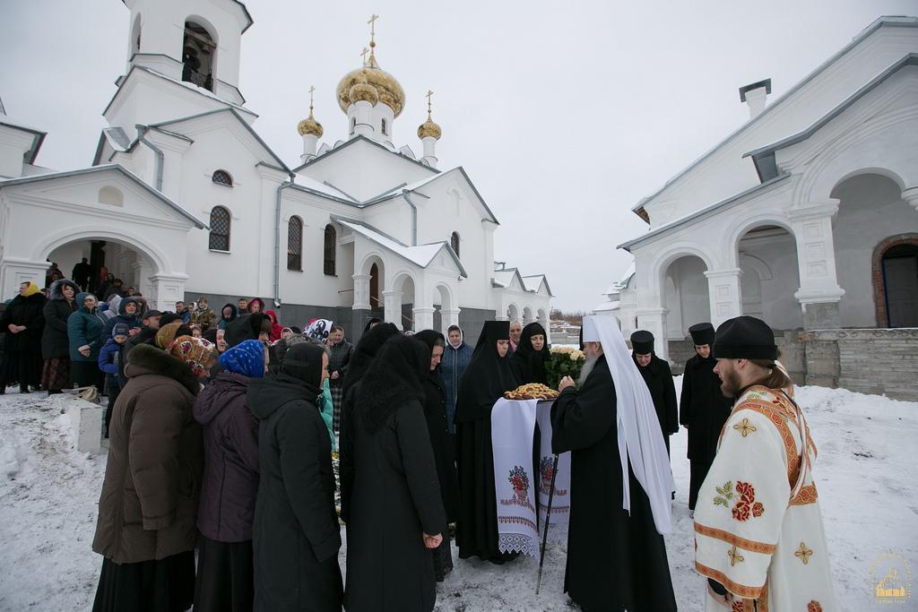 В скиту Святогорской лавры отметили престольный праздник/ svlavra.church.ua