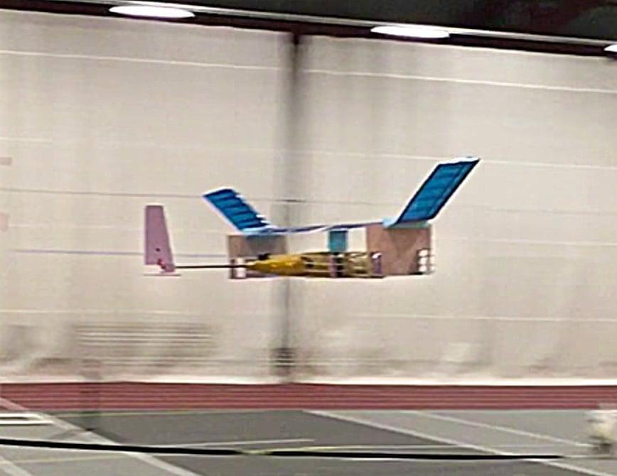 Прототип революційного літака рухається завдяки наелектризованим іонам / The Guardian