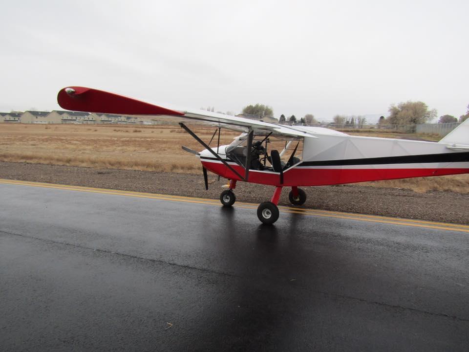 Подростковвидели летящими над шоссе в50 километрах отместа взлета / фото facebook.com/UintahCountySheriff