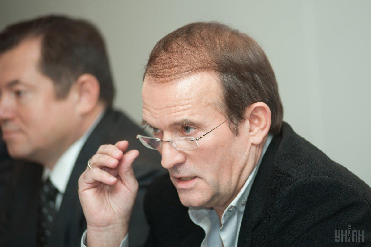 Medvedchuk is known for his close ties to Russian President Vladimir Putin / Photo from UNIAN