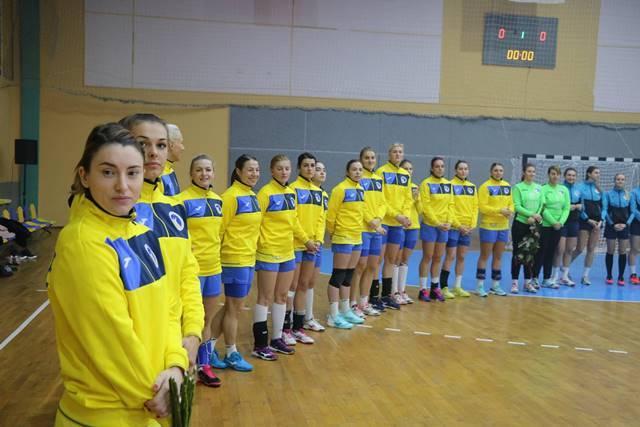 Сборная Украины с победы начала выступления на Кубке Турчина / handball.net.ua