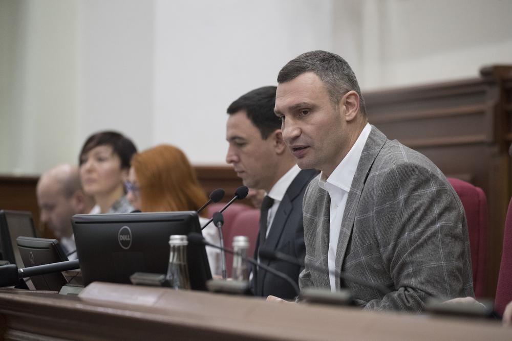 Кличко рассказал об оздоровлении экономики города / фото kiev.klichko.org