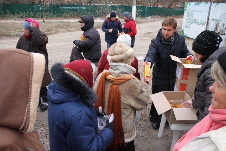 В память о митрополите Владимире провели благотворительную акцию / sobor.in.ua