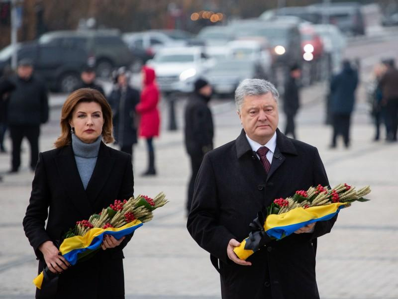 Президентская чета почтили память жертв Голодомора / фото president.gov.ua