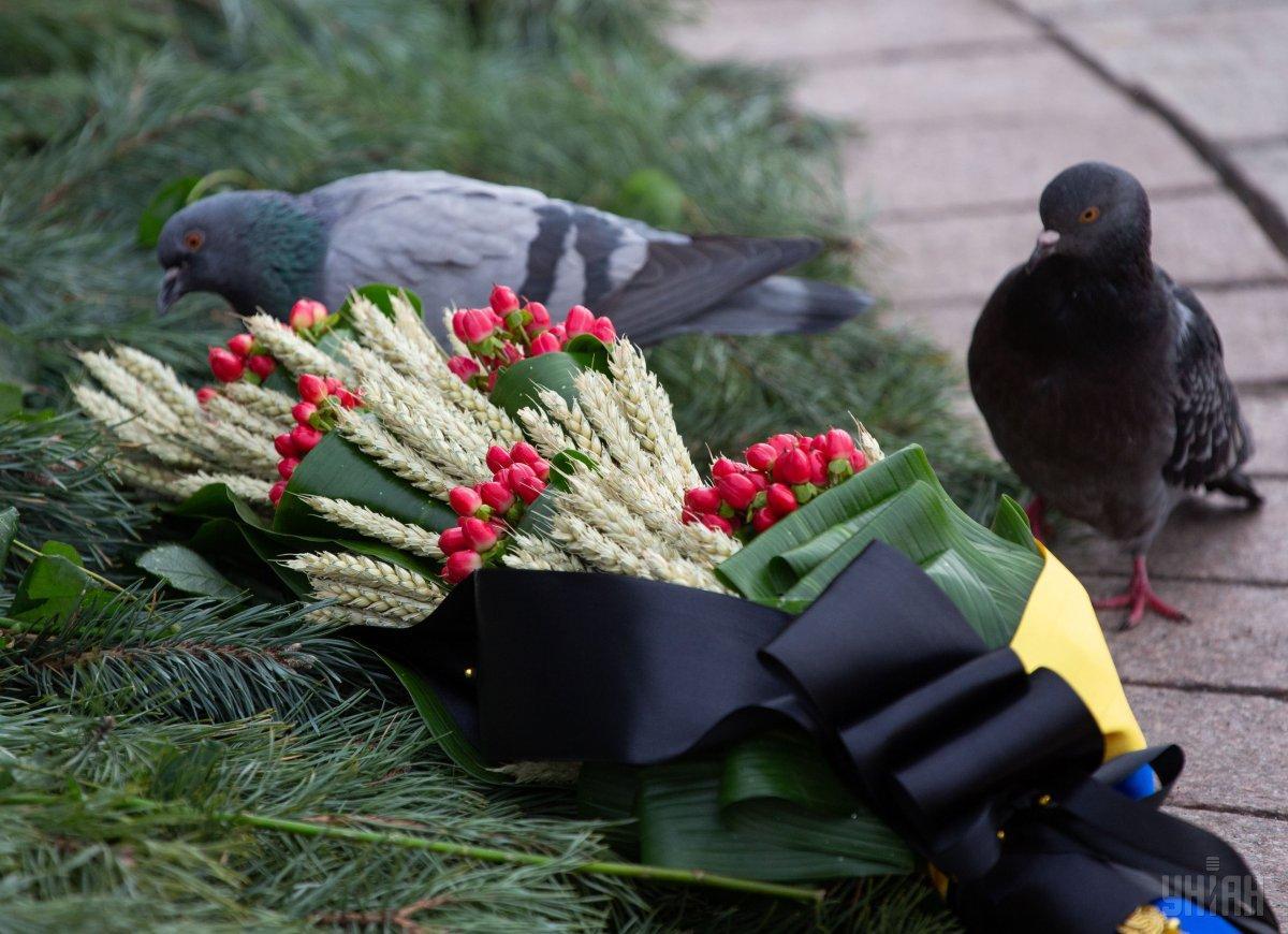 День пам'яті жертв Голодомору в Києві / фото УНІАН