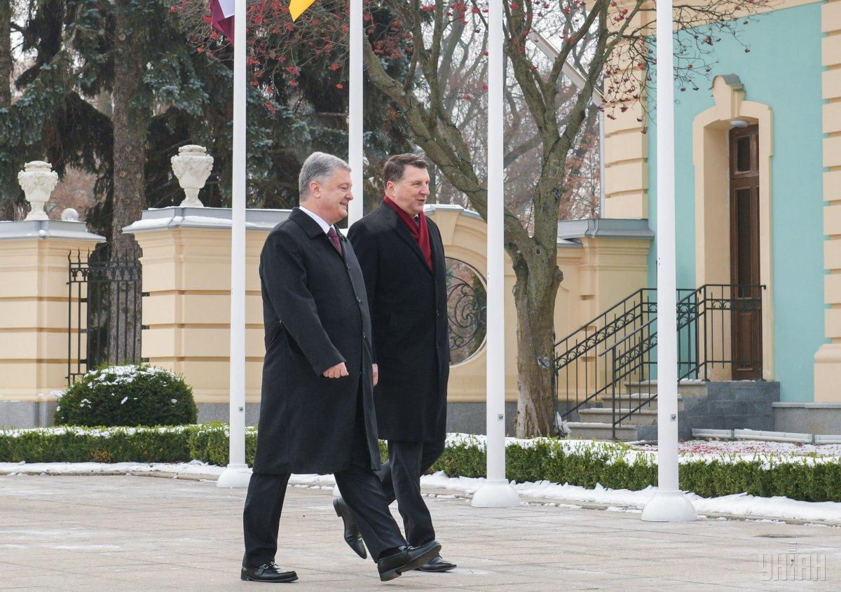 Вейоніс призвал ЕС продолжать санкційну политику против РФ / фото УНИАН