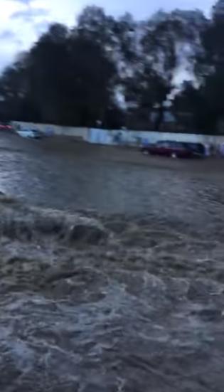 Священный город мусульман Мекку заливает водой/ islamnews.ru