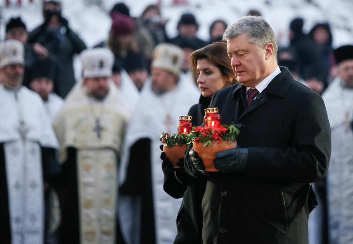 Петр и Марина Порошенко / фото REUTERS