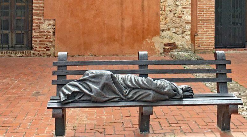 В Рио-де-Жанейро установили скульптуру «Бездомный Иисус» / Фото: Mariordo (wikimedia)