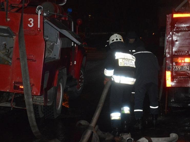 Пожежа трапилась у кімнаті житлового будинку на Тернопільщині / фото ГСЧС Украины в Днепропетровской области