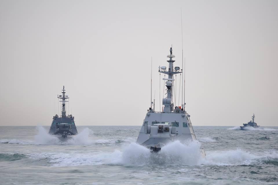 Сегодня часть украинских кораблей вернулась, чтобы пополнить запасы продовольствия и горючего / facebook.com/navy.mil.gov.ua