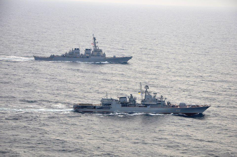 У США і Європи є широкі можливості покарати Росію за атаку в Азовському морі/ facebook.com/navy.mil.gov.ua