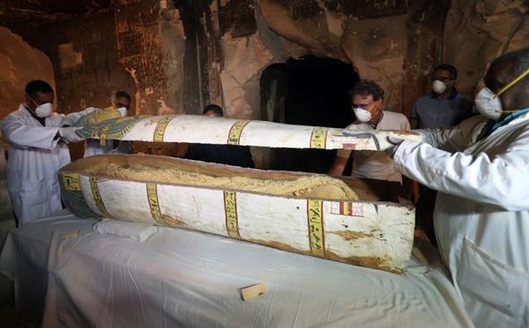 В Египте нашли гробницу служителя храма Амона / youm7.com
