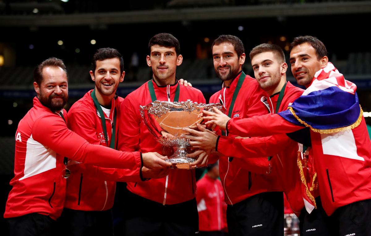 Сборная Хорватии по теннису выиграла Кубок Дэвиса-2018 / REUTERS