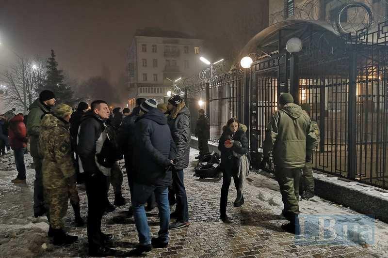 Митинг под посольством РФ / LB.ua