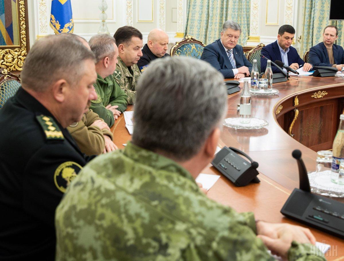Заседание Совета национальной безопасности и обороны Украины в Киеве / фото УНИАН