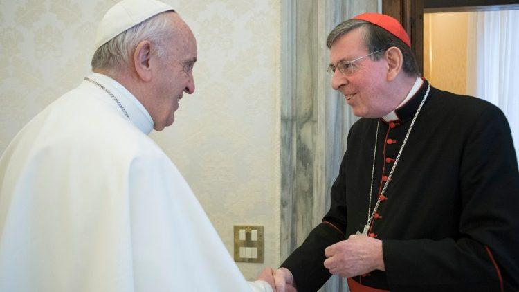 Папа Франциск и кардинал Курт Кох  (Vatican Media) / vaticannews.va