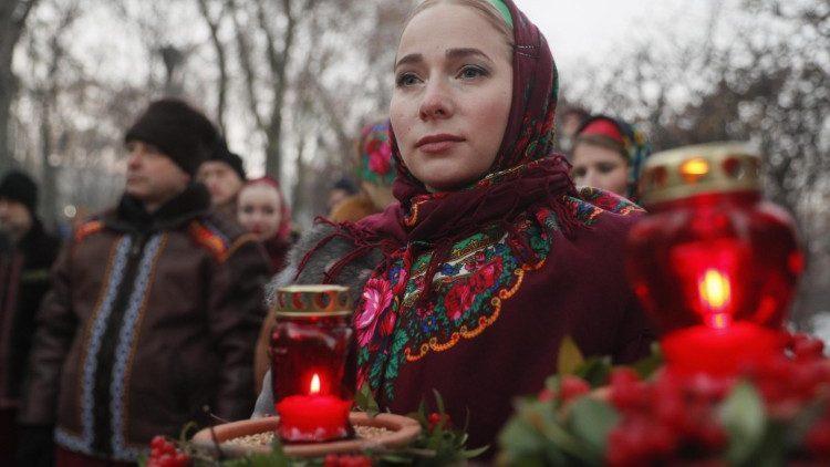 В годовщину Голодомора Папа Римский помолился о мире в Украине / vaticannews.va