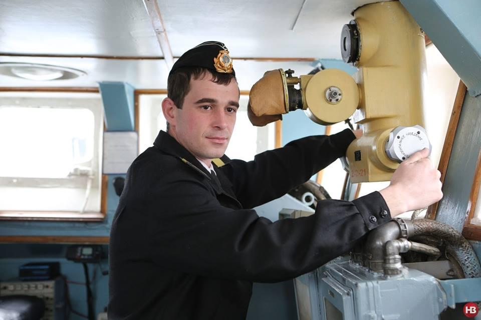 Український моряк Роман Мокряк / фото Новий час