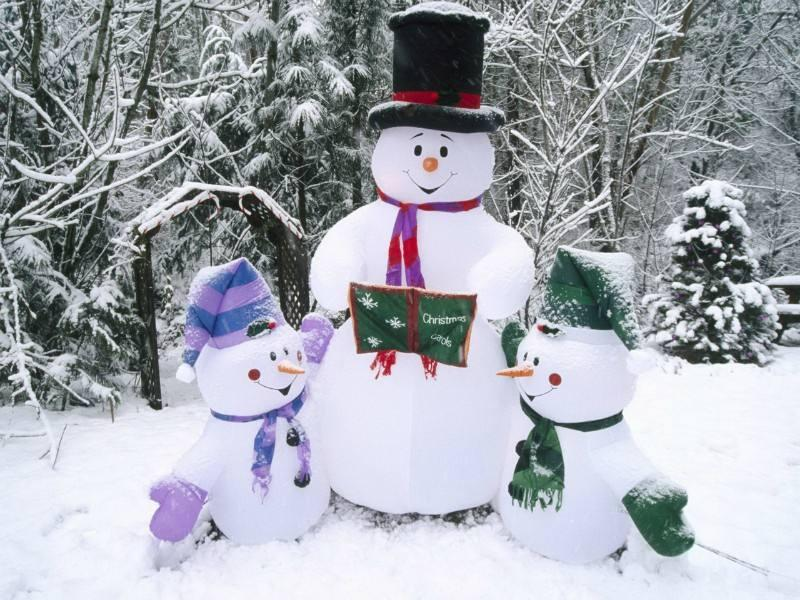 В Запорожской епархии УПЦ открыт конкурс на лучшего снеговика / hramzp.ua