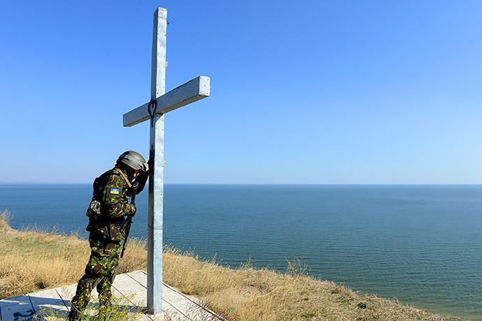 Военное положение введено сроком на 30 суток / Фото: Alexander Khudoteply/AFP