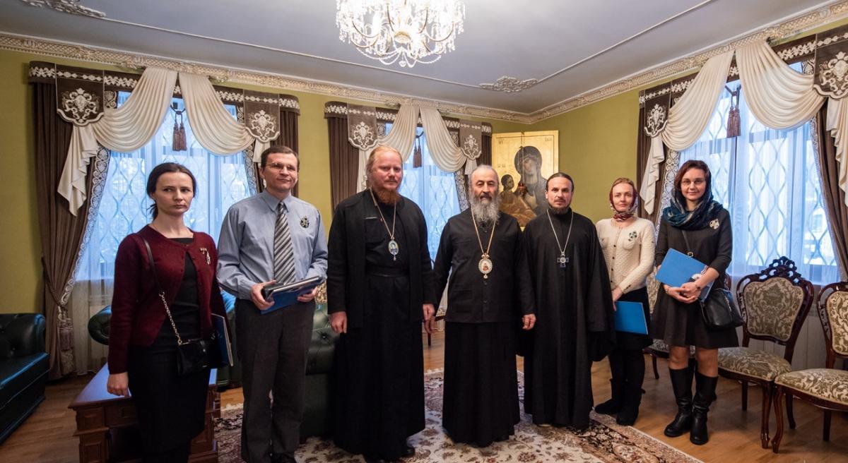 Митрополит Онуфрій привітав колективи православних видань з ювілеєм / news.church.ua