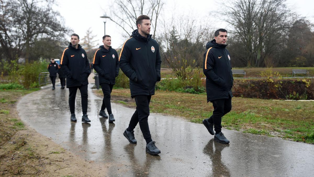 Игрокти Шахтера прогулялись по парку в Хоффенхайме / shakhtar.com
