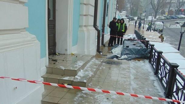 В Киеве задержали мужчину, который пытался поджечь Андреевскую церковь / segodnya.ua