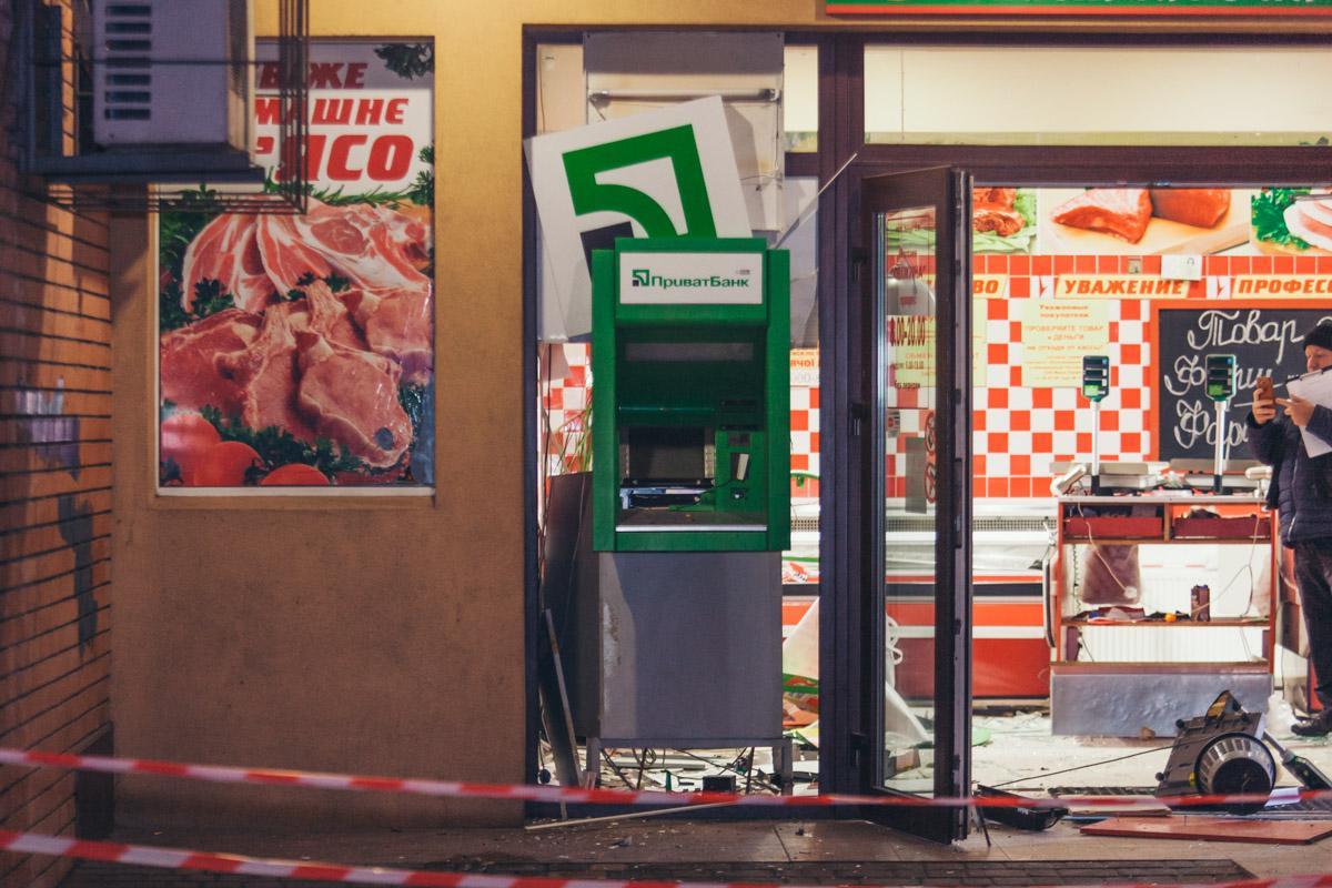 В Днепре снова взорвали банкомат / Информатор