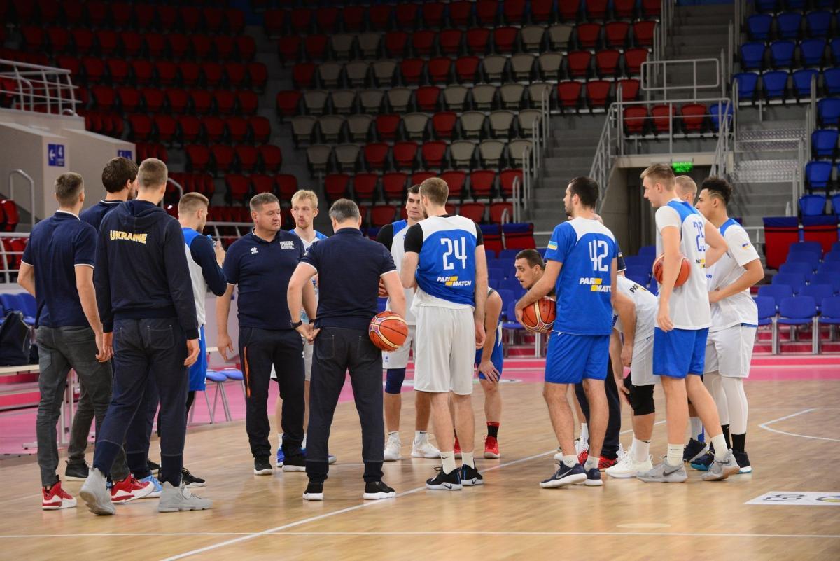Збірна України з баскетболу готується до матчу зі Словенією / fbu.ua