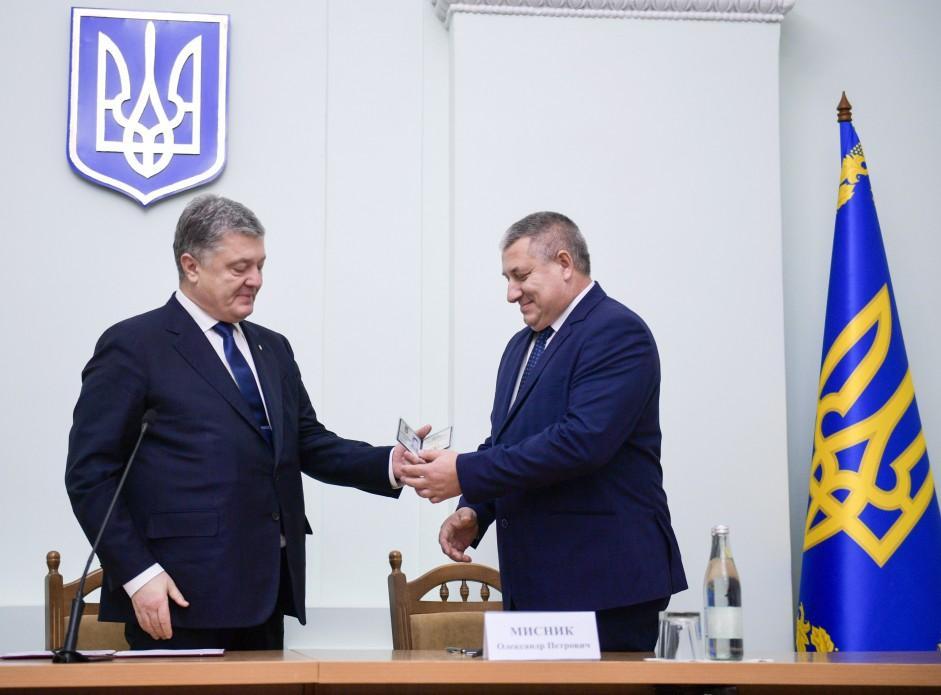 Порошенко назначил Александра Мисника руководителем Черниговской области/ president.gov.ua