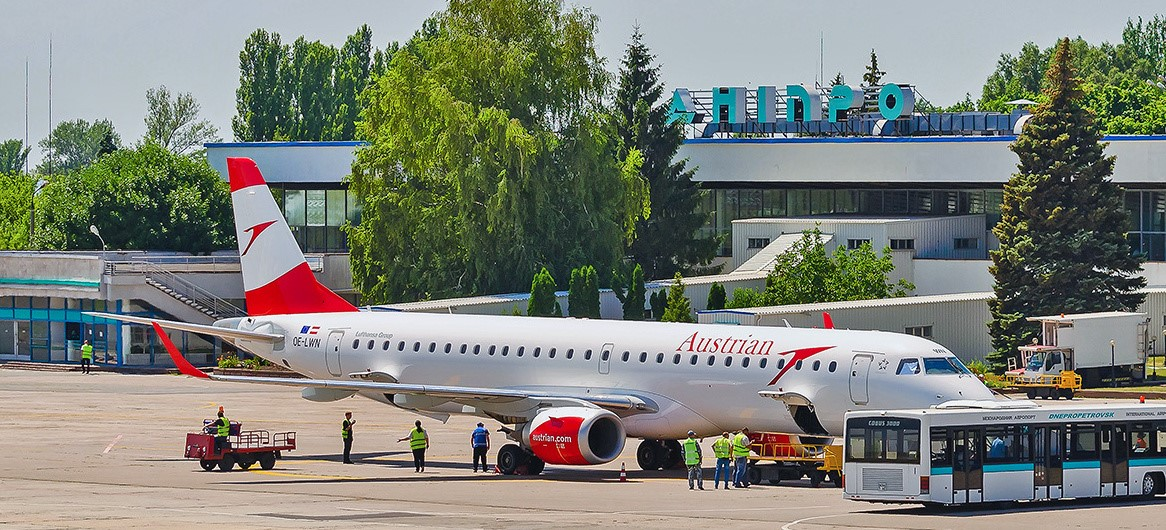 Сейчас аэропорт Днепропетровщины ведет переговоры / фото dnk.aero