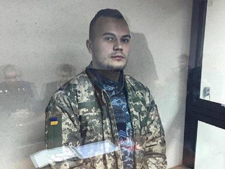 Commander of the Yany Kapu tugboat Oleh Melnychuk / Photo from facebook.com/andriy.illenko