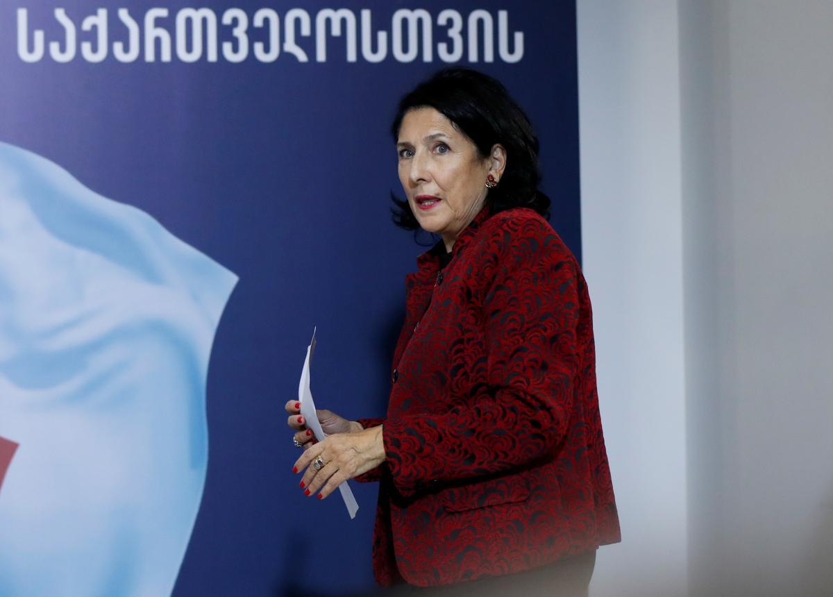 Новый президент Грузии Саломе Зурабишвили / REUTERS