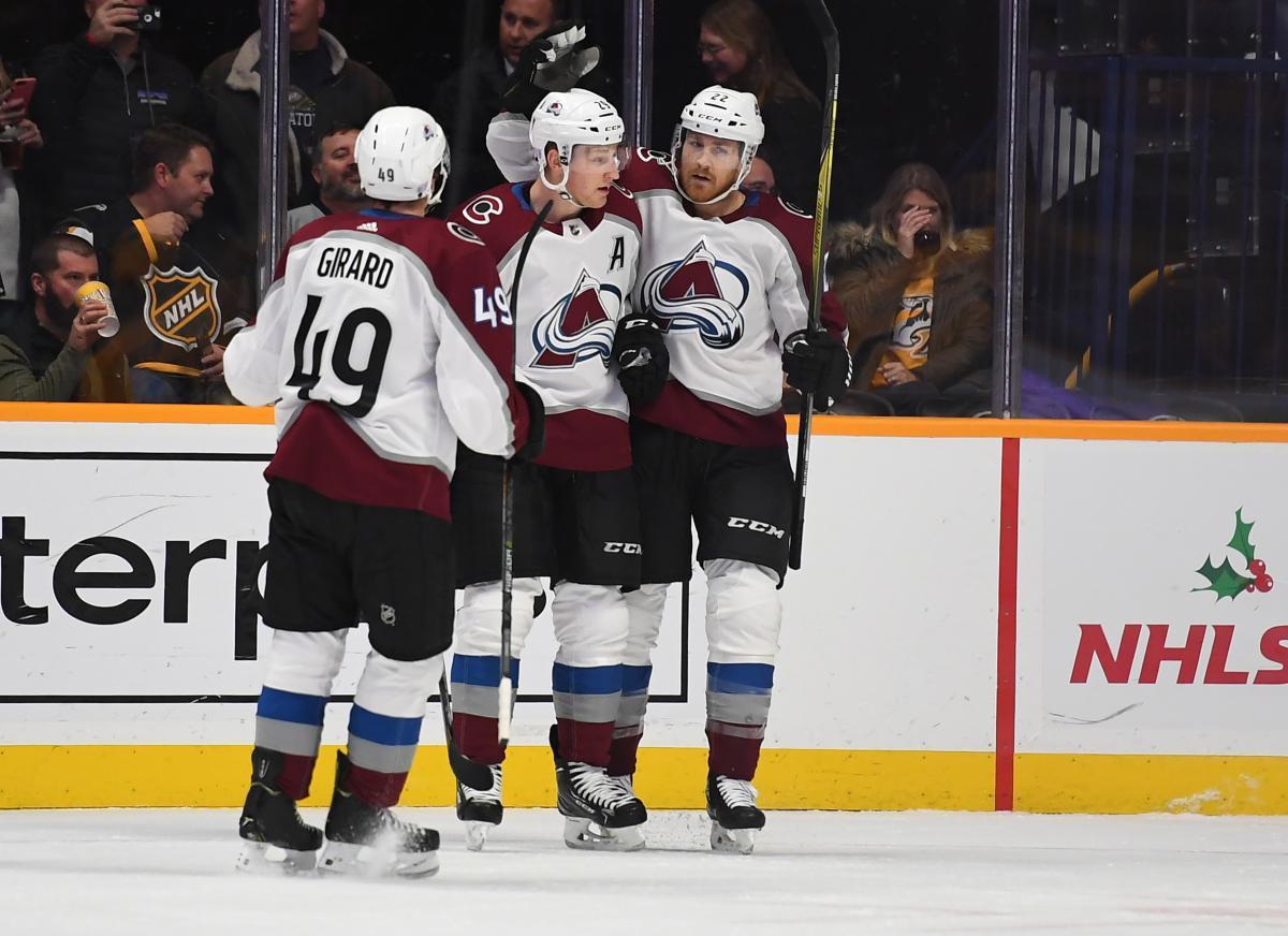 Хокеїсти Колорадо закинули шість шайб у ворота Піттсбурга / Reuters