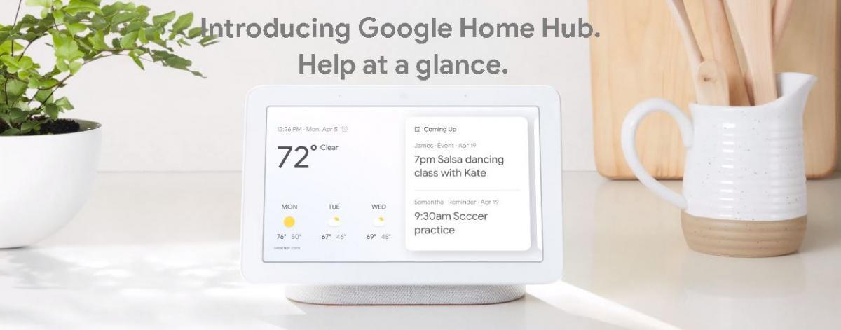 Google Home Hub / фото store.google.com
