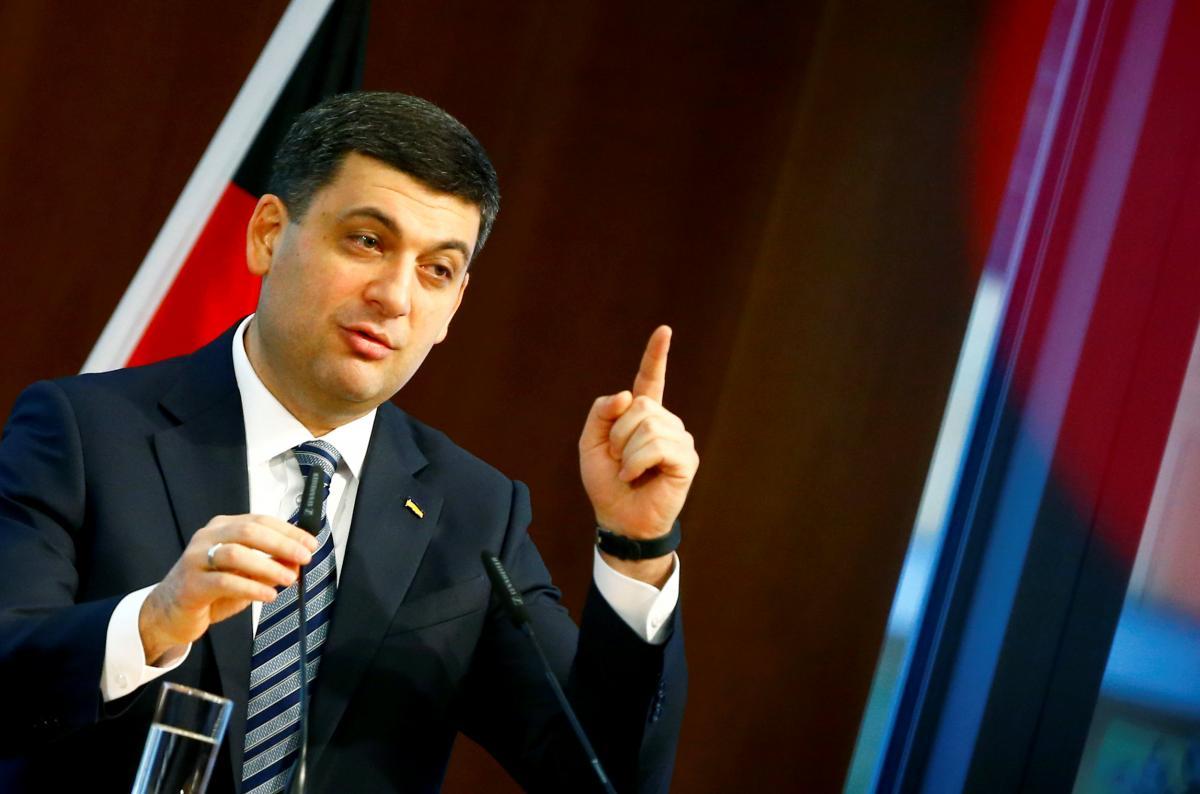 """Гройсман удивился, когда услышал, что Порошенко """"нуждается в поддержке"""" / Иллюстрация REUTERS"""